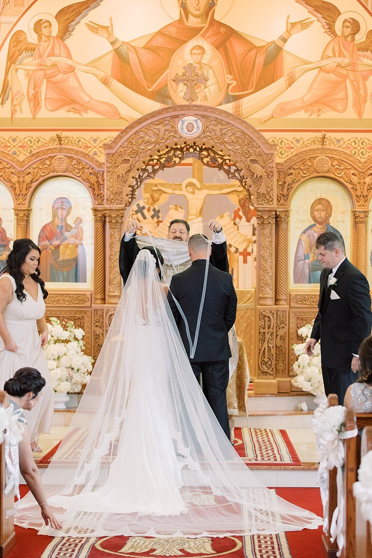 greek orthodox wedding ceremony | new jersey wedding photographer sarah canning