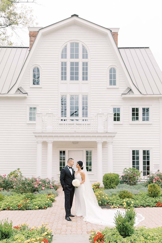 the ryland inn wedding | bride + groom portraits | sarah canning photography