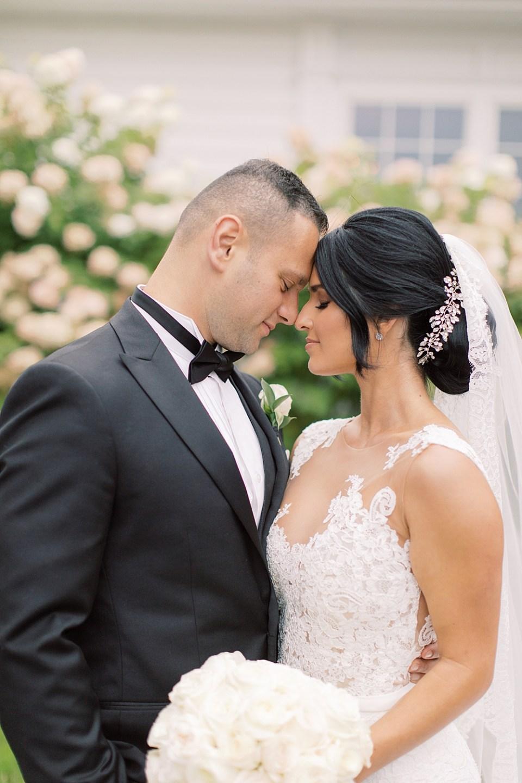 romantic wedding portraits | ryland inn wedding | sarah canning photography