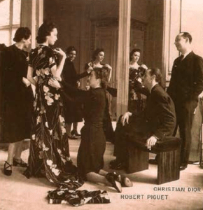 Robert Piguet and Christian Dior