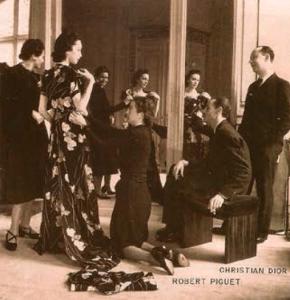 Robert Piguet and Christian Dior