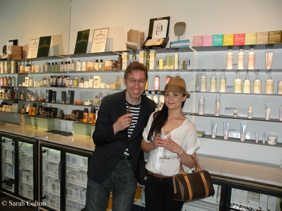 Ulrich Lang of Ulrich Lang New York and Alexandra Cublzolles of  Une Nuit a Bali