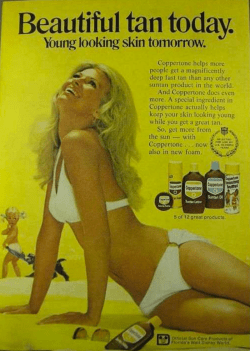 Coppertone ad 1972