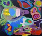 Maria Lynch Hybrid 2 2014 oil on canvas
