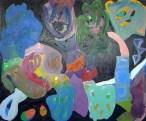 Maria Lynch Hybrid 2014 Oil on canvas