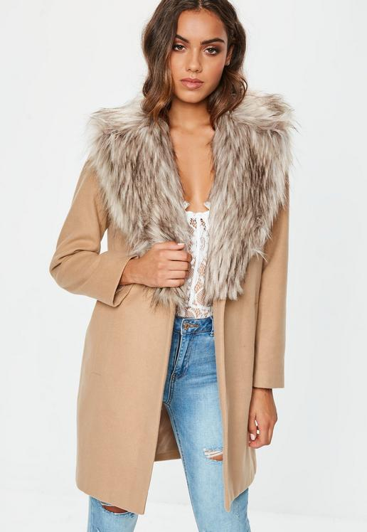 camel-faux-fur-collar-short-formal-coat.jpg