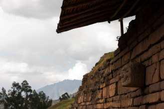 The ruins of Chavín