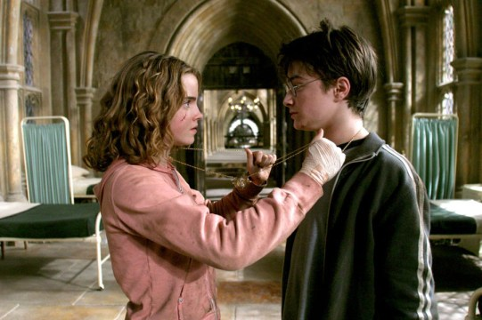 Hermione and the time turner