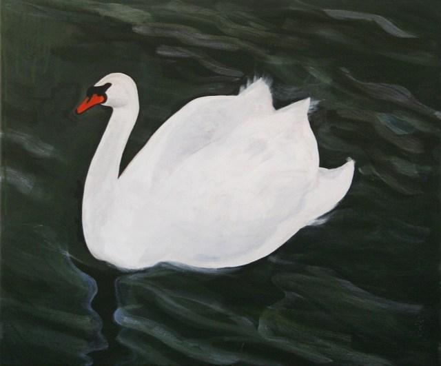 Swan © Sarah Dixon 2010