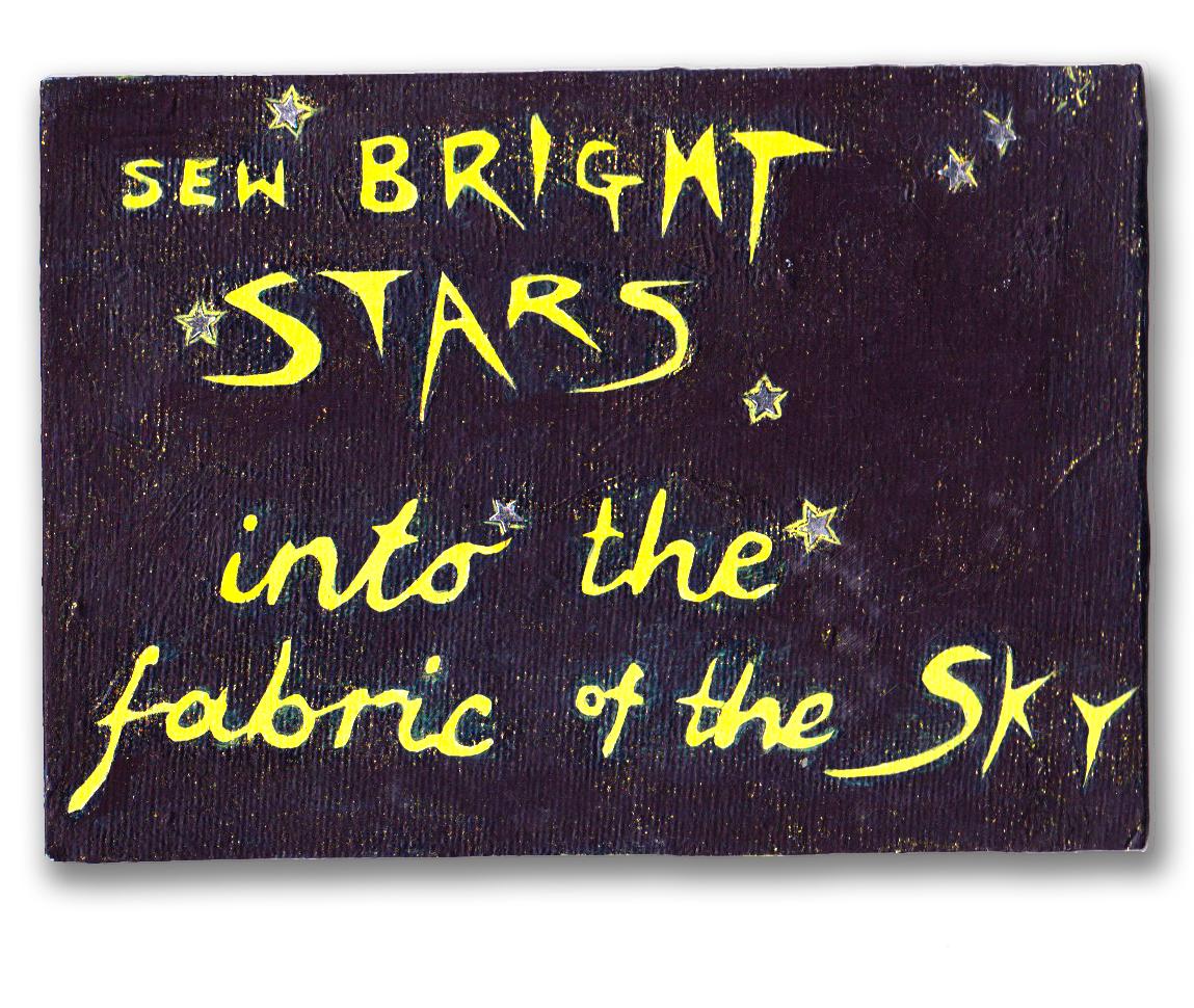 Sew Bright Stars