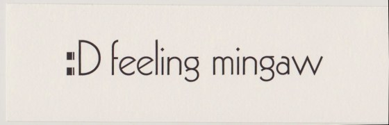 feeling mingaw