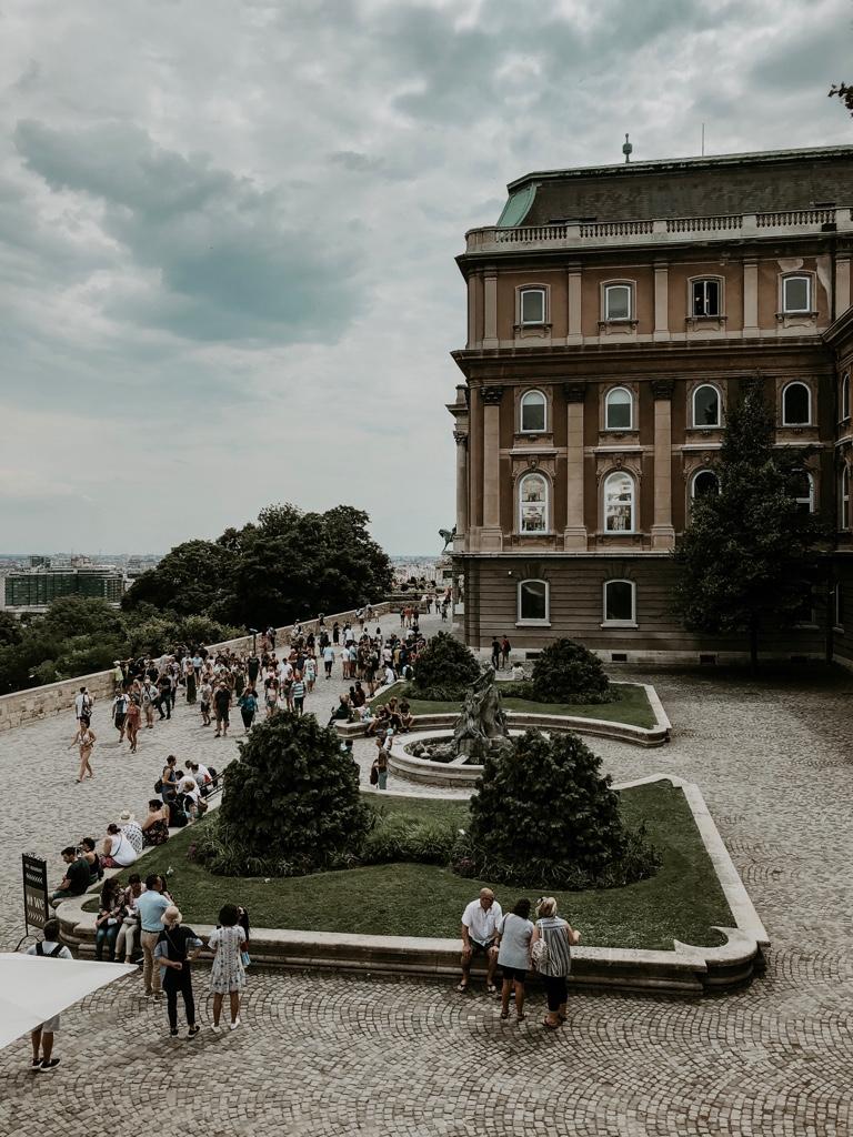 Burgpalast, Budapest