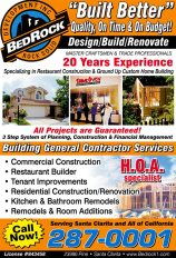 Bedrock Development, Inc quarter page ad