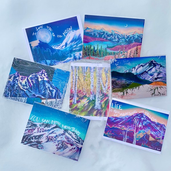Eco-Art Postcards