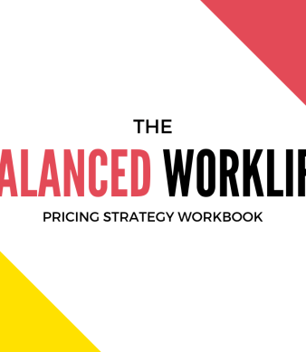 Is your hourly rate leaving you burned out and broke? Use the Balanced Worklife Pricing Strategy Workbook to figure out what your rate really should be.