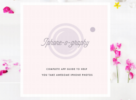 How to Use Your iPhone To Make Gorgeous Stock Photos for Your Website