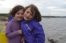 Vivienne (3) and Noelle (5)