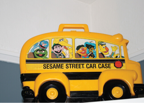 Sesame Street Car Case