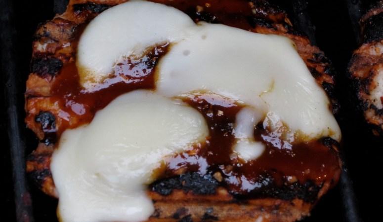 BBQ Apple Cheddar Turkey Burger