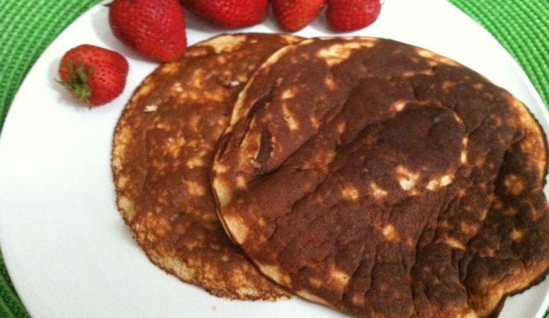 Chocolate Peanut Butter Protein Pancakes Recipe
