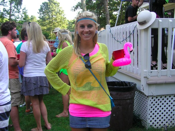 80s Pool Party Costume
