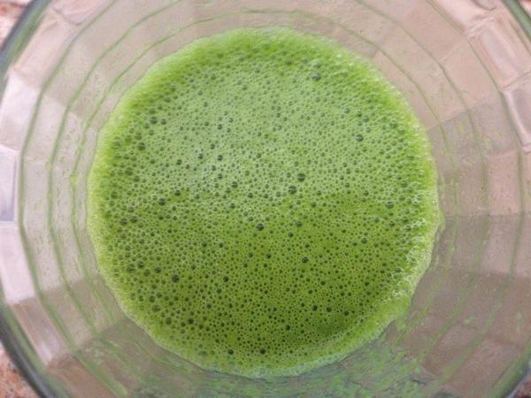St Patrick's Day Detox Green Juice (made in Blender)