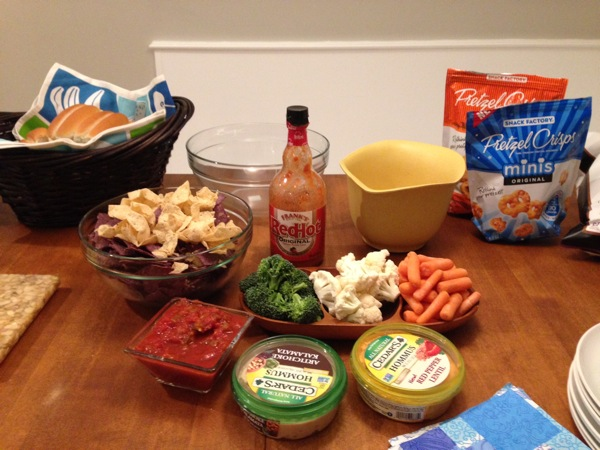 My Superbowl Menu & Why I Didn't Like That Reebok Commercial