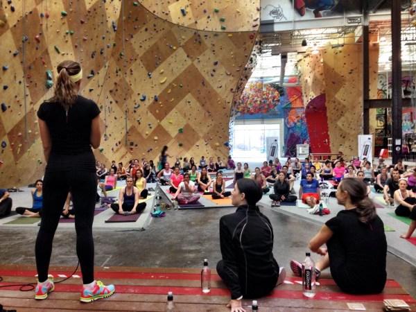 Brooklyn Boulders Essentia Event