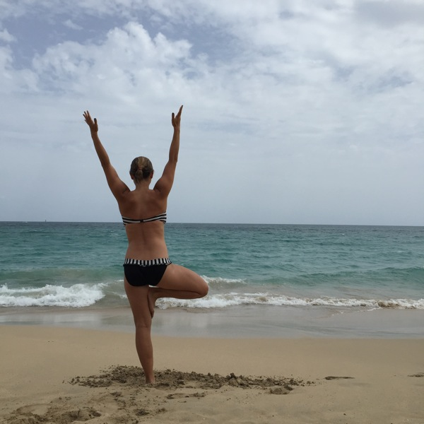 Tree Pose Beach