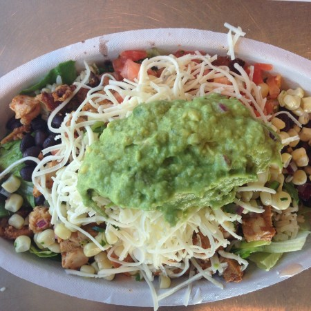 chipotle lunch