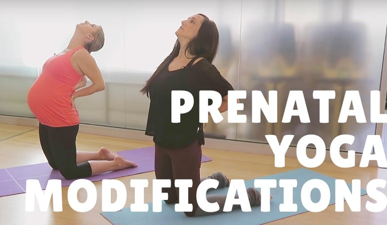 Video: How To Make Any Yoga Class Pregnancy Friendly + Prenatal Modifications