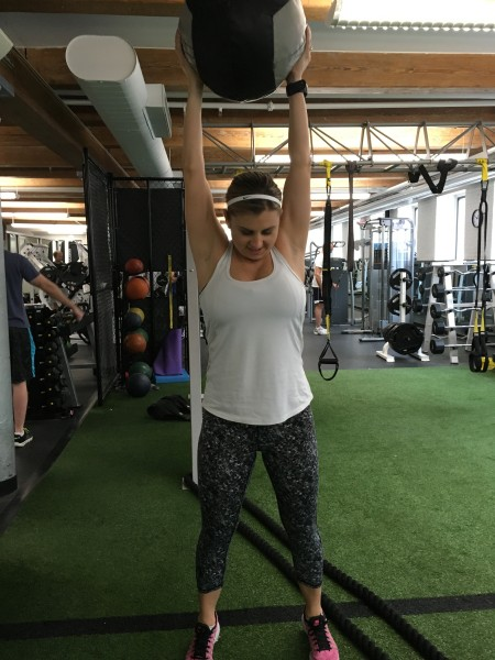 My First Post Natal Strength Training Session