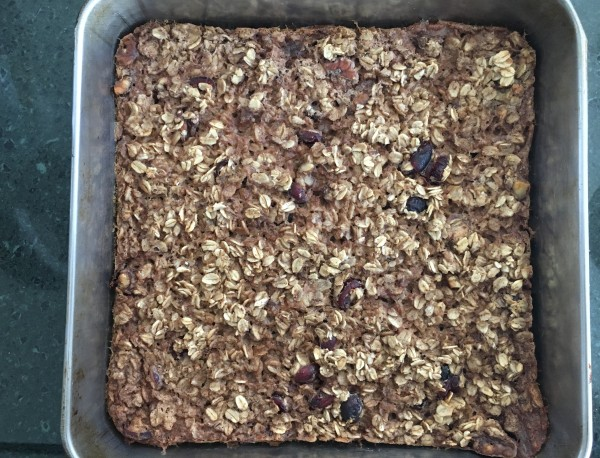 cran nut baked oatmeal