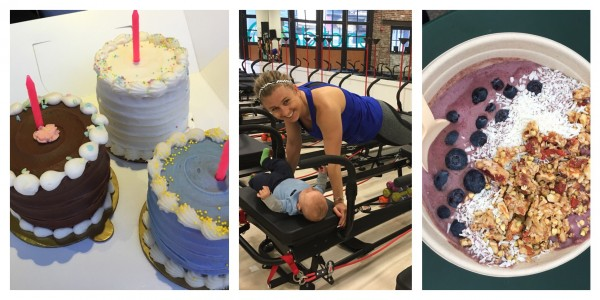 Postpartum Update: Eats + Workouts + Birthday Fun