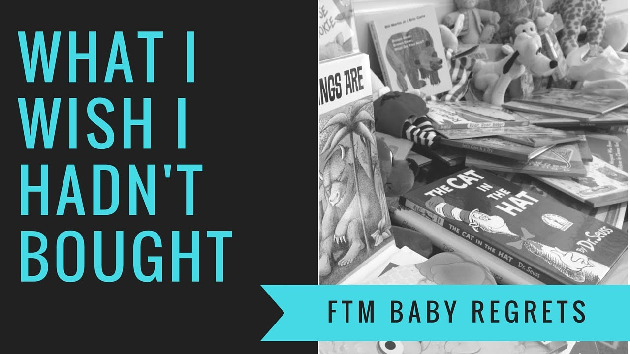 Baby Items I Regret Buying For Tommy