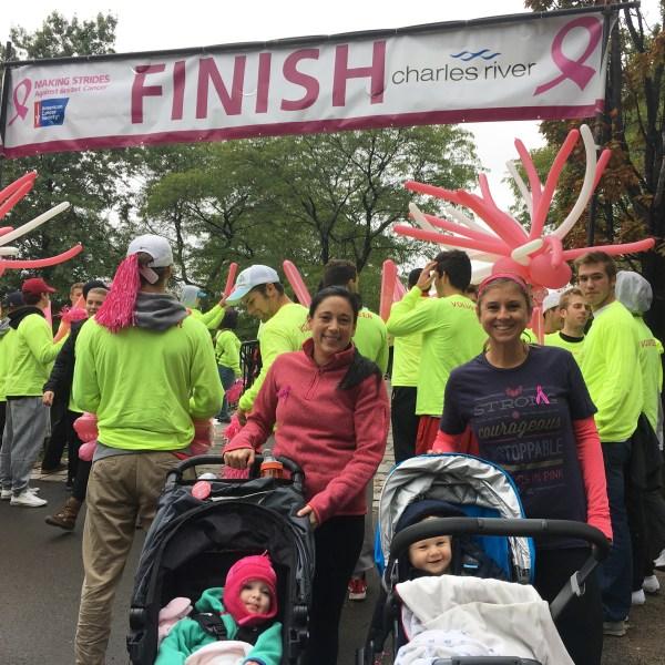 Strides Boston Finish Line Photo