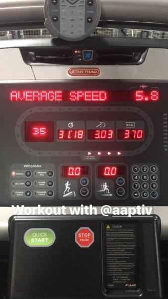 Aaptiv Treadmill