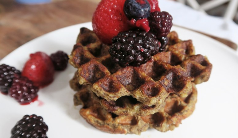 Easy Family Friendly Protein Pancakes or Waffles