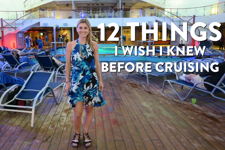 12 Things I Wish I Knew Before Cruising