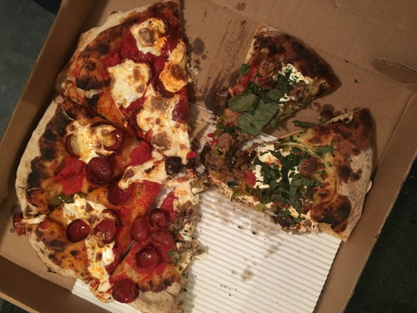 Pizza from Picco South End Boston