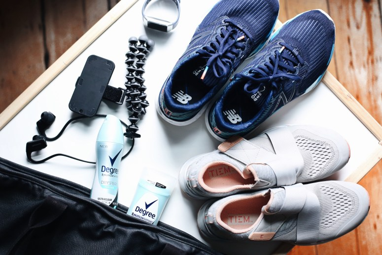 What's in my gym bag degree