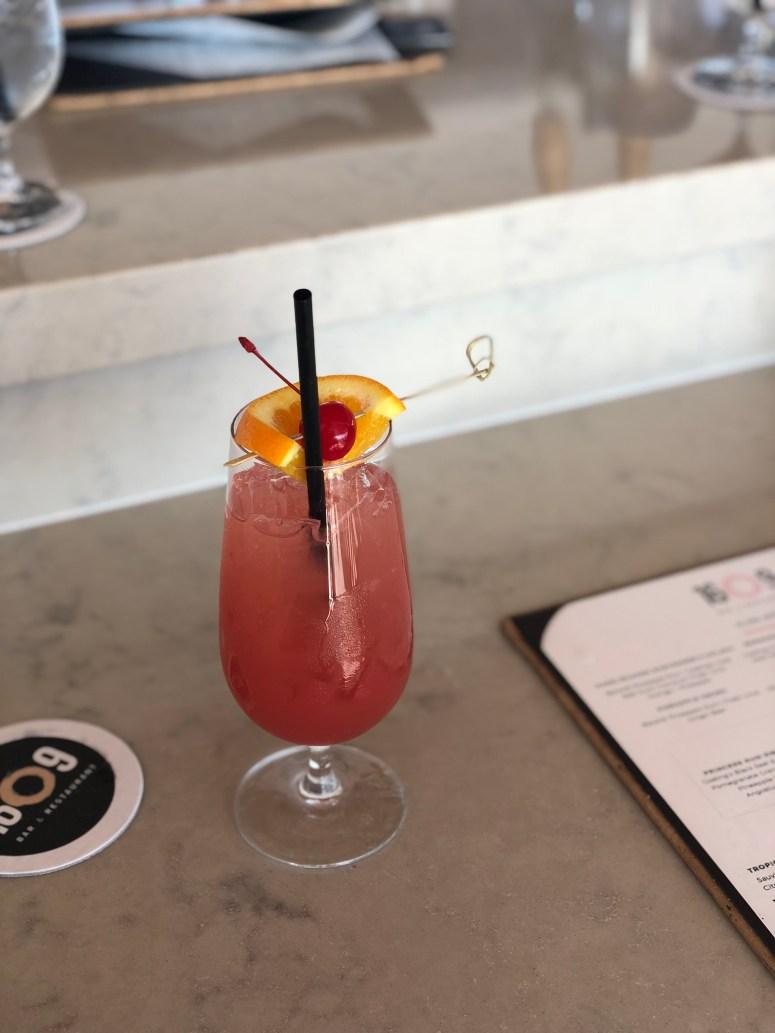 Mocktail at the Princess Hamilton in Bermuda
