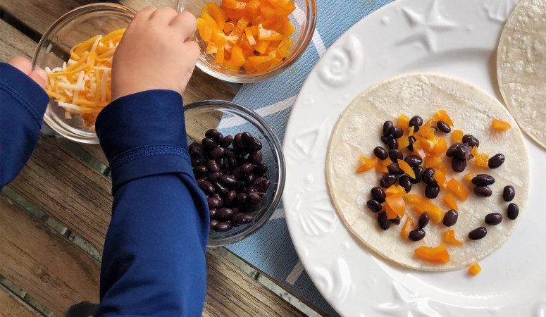 20-minute End of Summer Family Friendly Dinner Idea