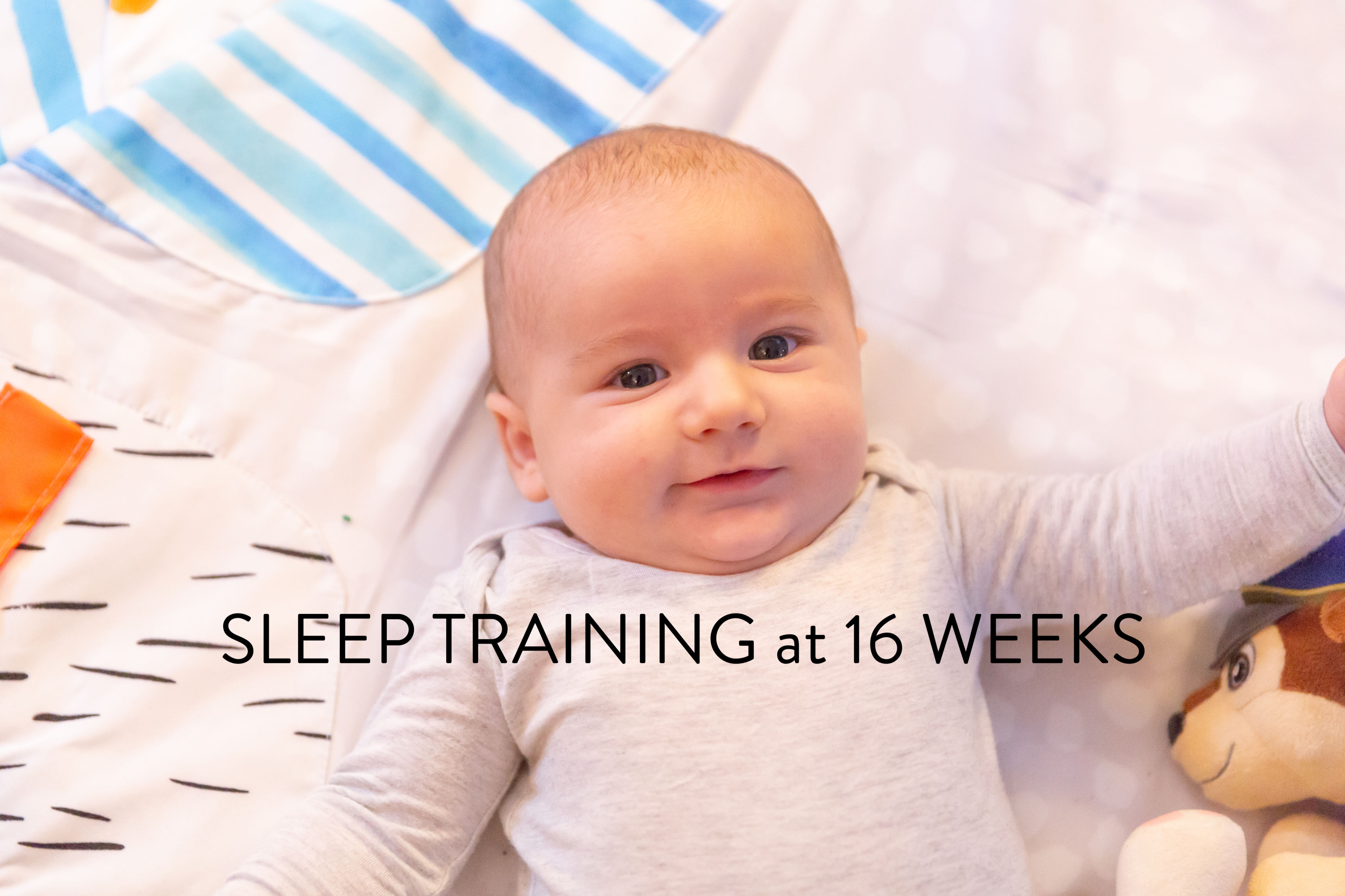 Another Connor Sleep Update – Sleep Training EBF Baby Update #3