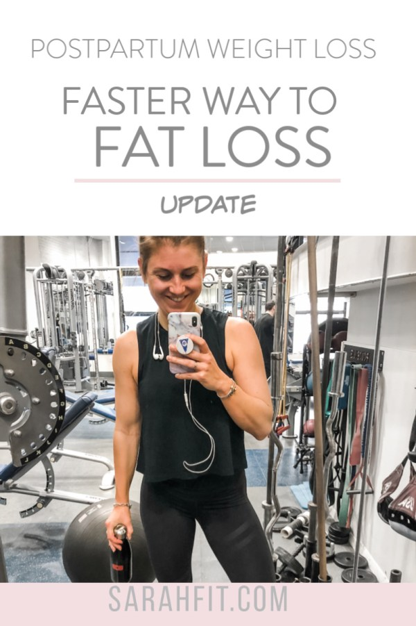 FASTER WAY TO FATLOSS UPDATE WHILE BREASTFEEDING