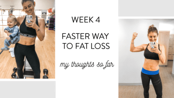 Week 4 FASTer Way To Fat Loss Update