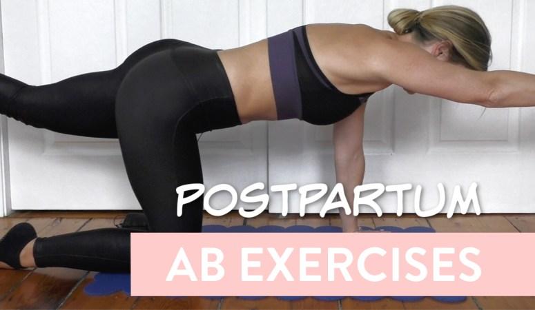 Ab Rehab: Postpartum Ab Exercises