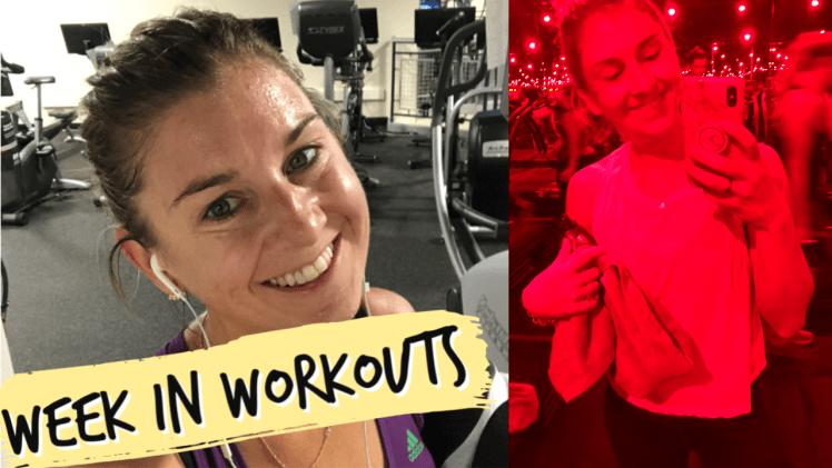 Week in Workouts Oct 28-Nov 3