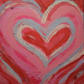 Cherry Heart SOLD