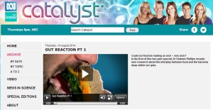 catalyst gut reaction